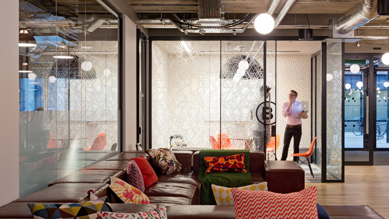 Coworking design and build at WeWork-Corsham-Street