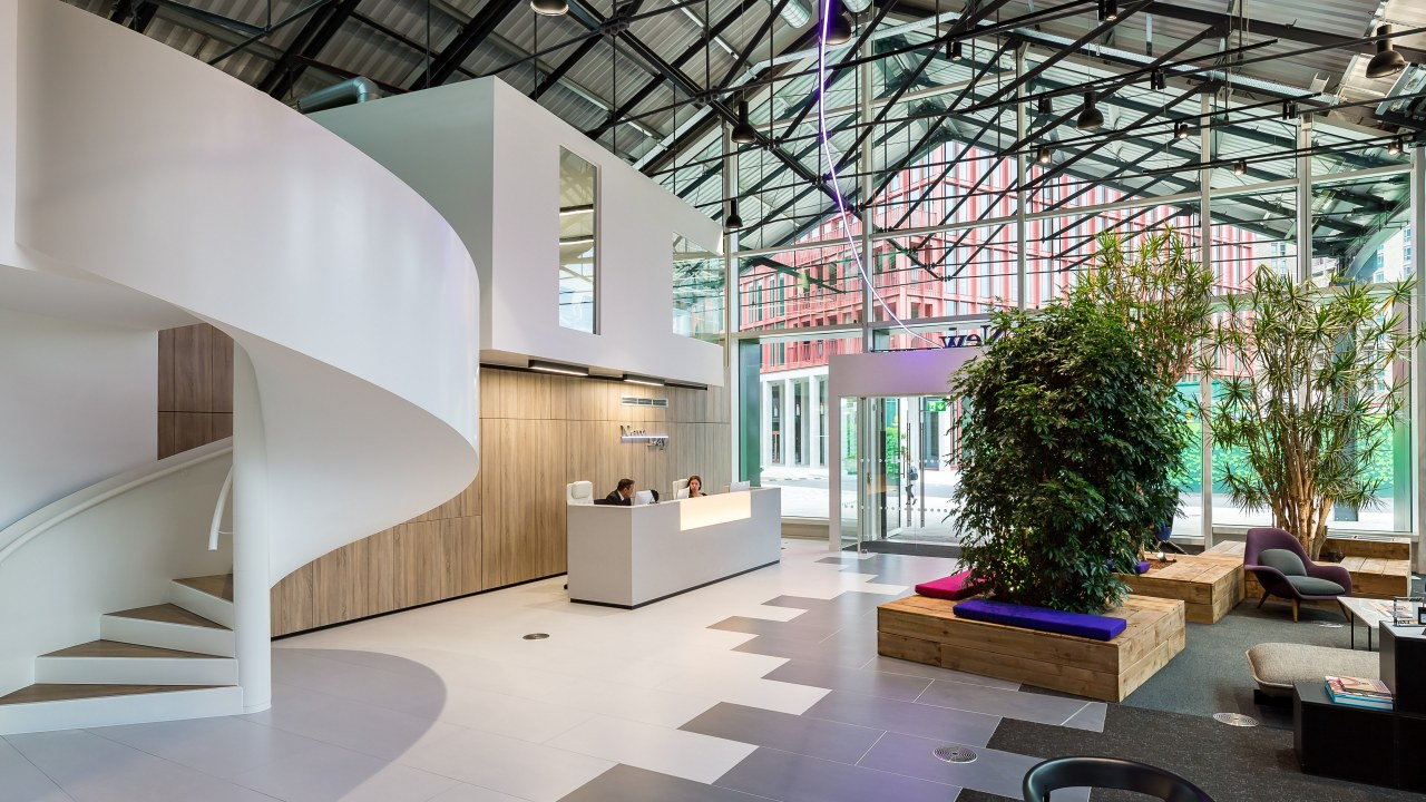 office design for financial firm NewDay