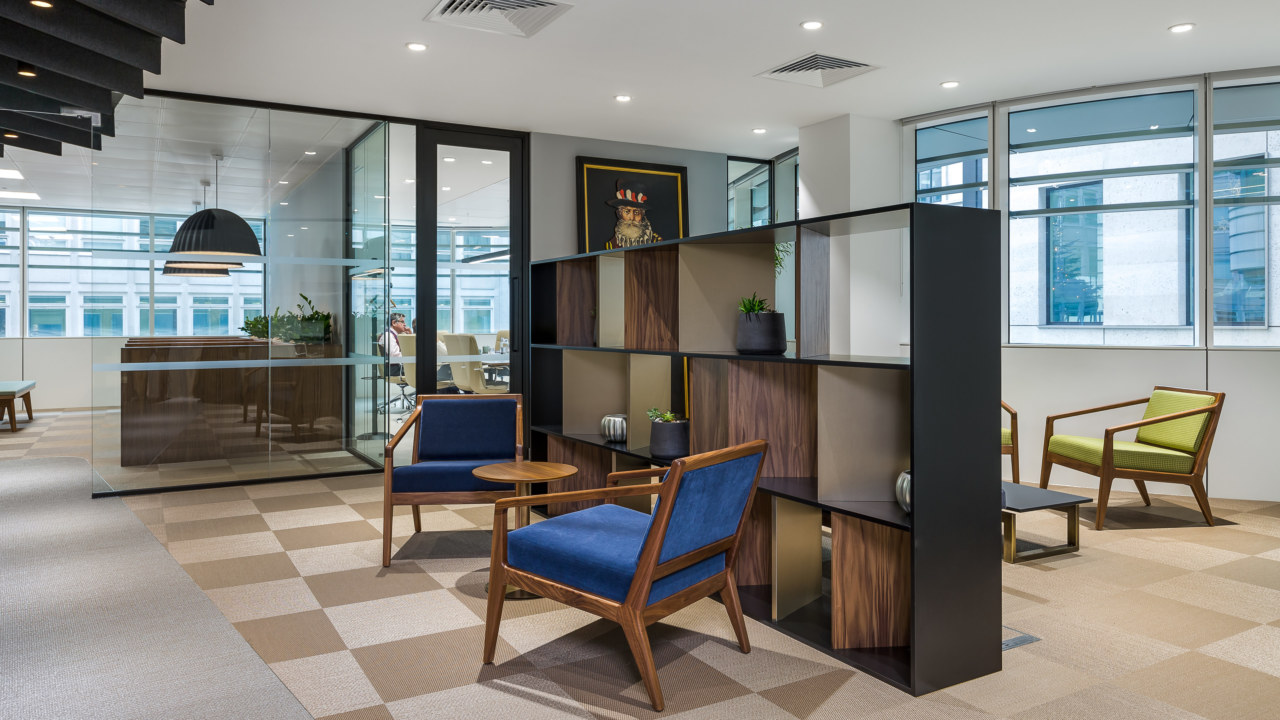 Office design for a London Investment company