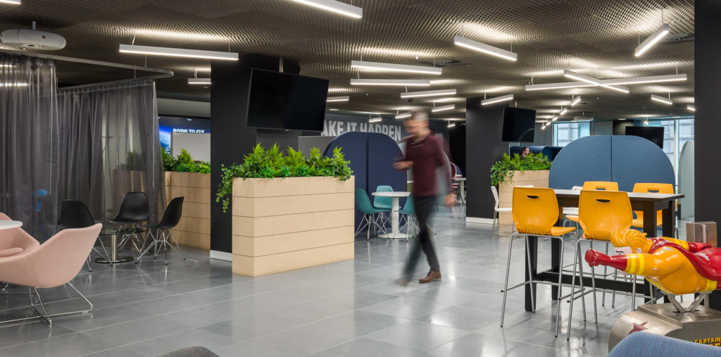 Office design for Funding Circle