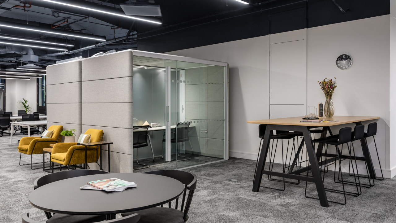 Cat B Fit Out for Serviced Office Provider Knotel