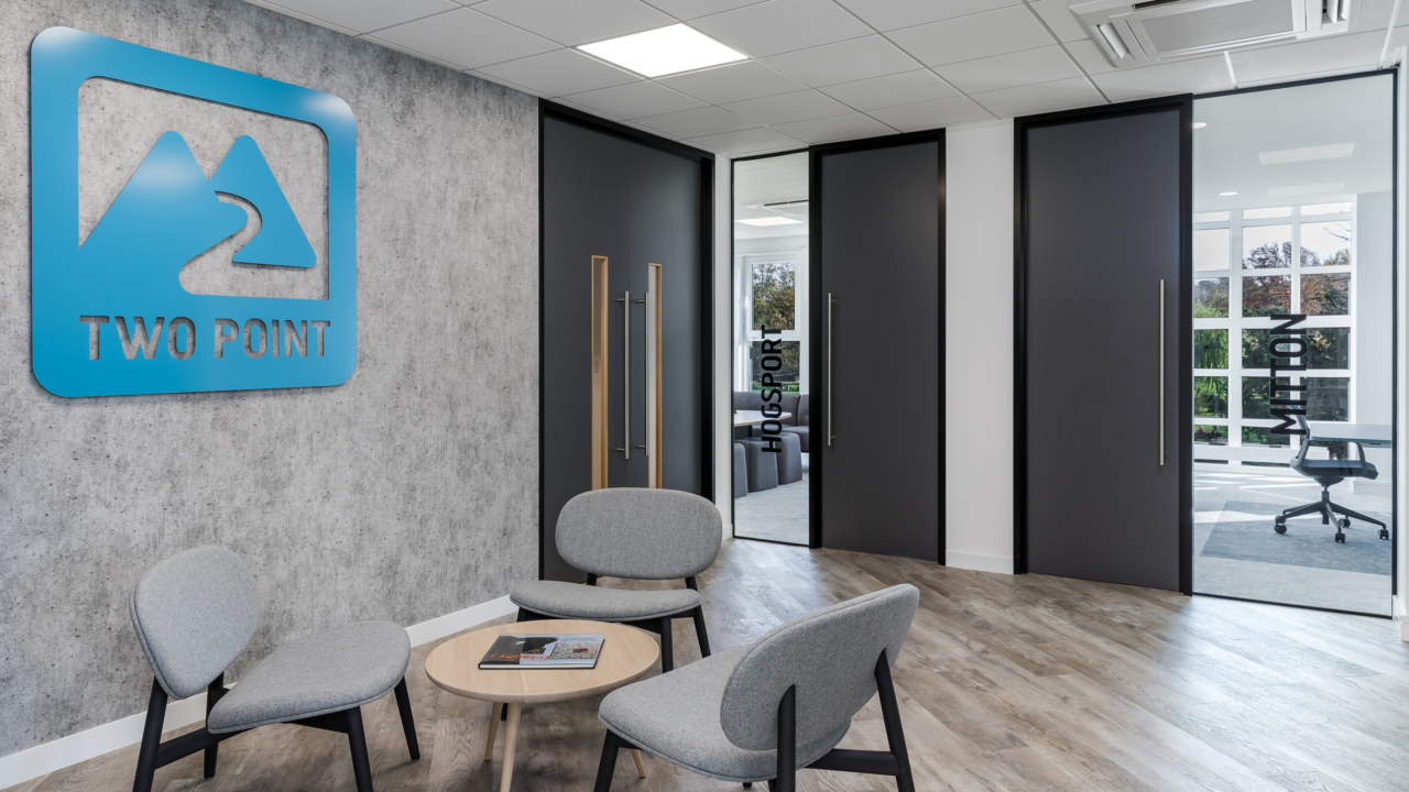 Cat B fit out for British gaming company Two Point Studios.