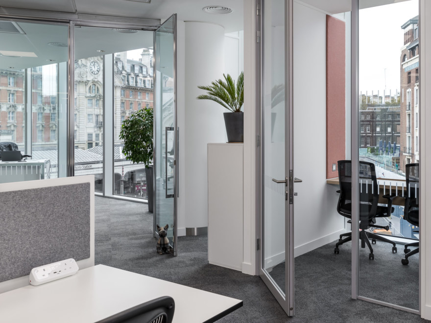Variety of office spaces