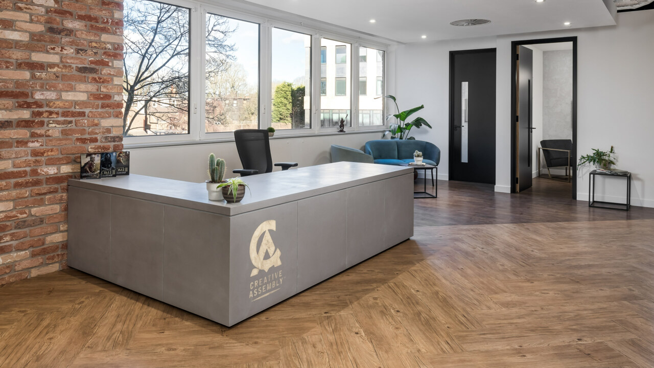Reception area fit out