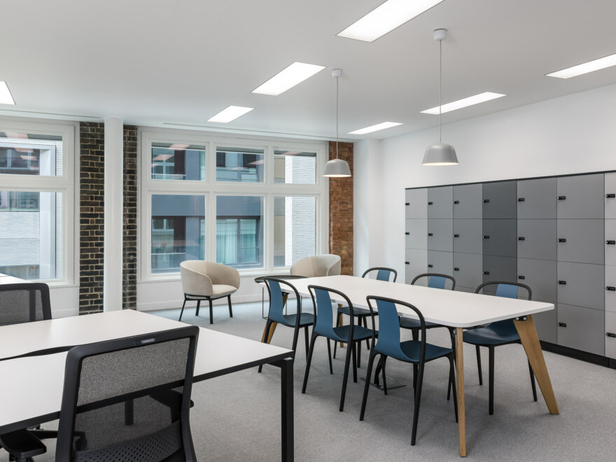 Breakout area and work stations office fit out.
