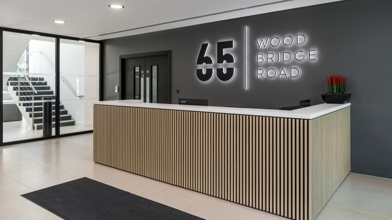 Cat A+ Fit Out of 65 Woodbridge Road for Mayfair Capital