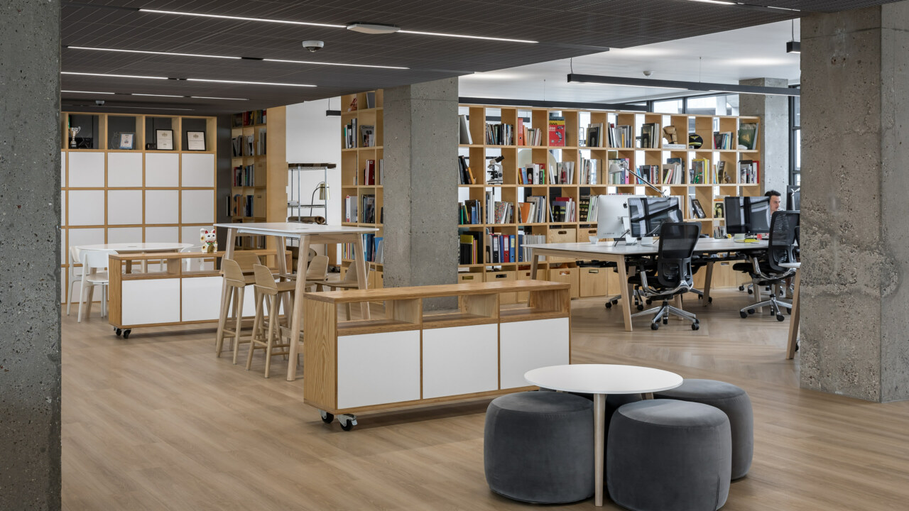Cat B office fit out and design